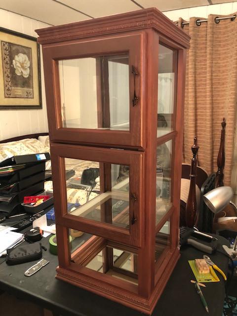 Custom Mini Curio Cabinet
