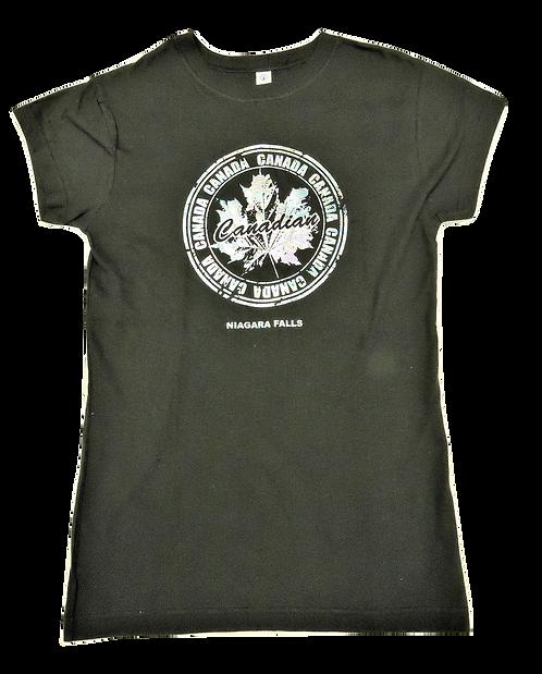 5562-Canada Circle Leaf Foil