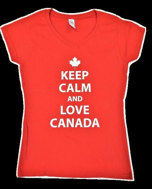 64V00L-Keep Calm Love Canada