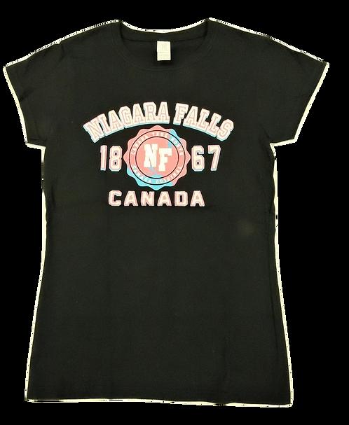 5562-Niagara Falls Hot Pink Puff