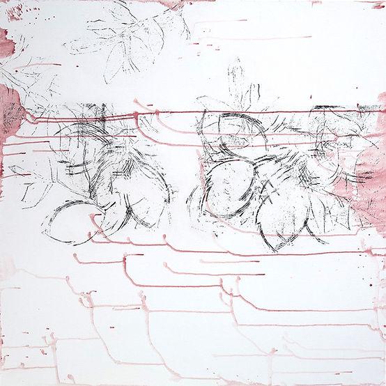 acylique, technique mixte, technique mixte sur toile, Martine Meyer