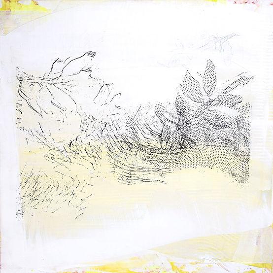 acrylique, technique mixte,  technique mixte sur toile, Martine Meyer