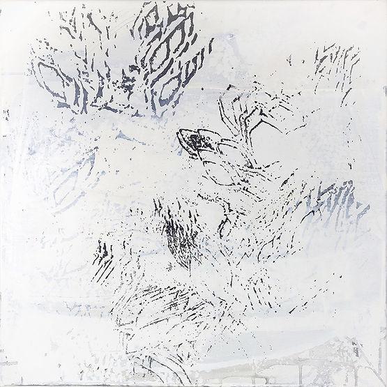peinture acrylique, technique mixte sur toile, Martine Meyer