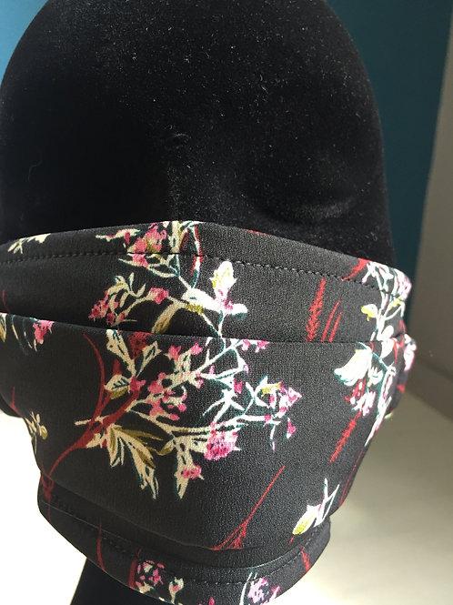 Masqueà fleurs noir 820081111