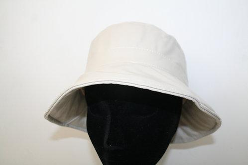 Chapeau de pluie uni beige sable 622092504