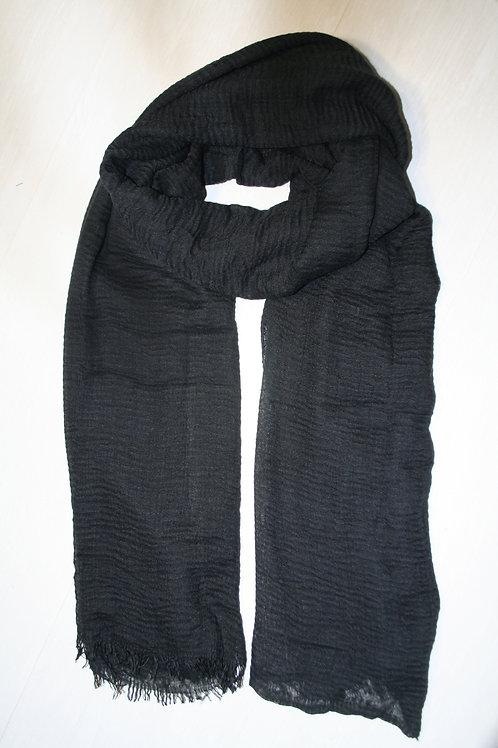 Echarpe fine noire