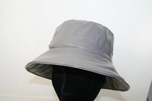 Chapeau de pluie uni gris métal 622092514