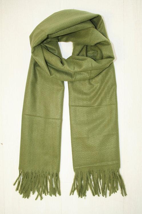 Echarpe unie, vert pistache