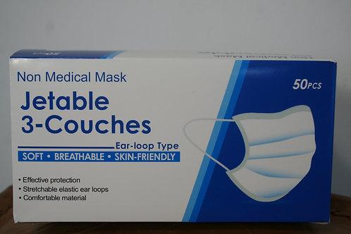Boite de masques jetable