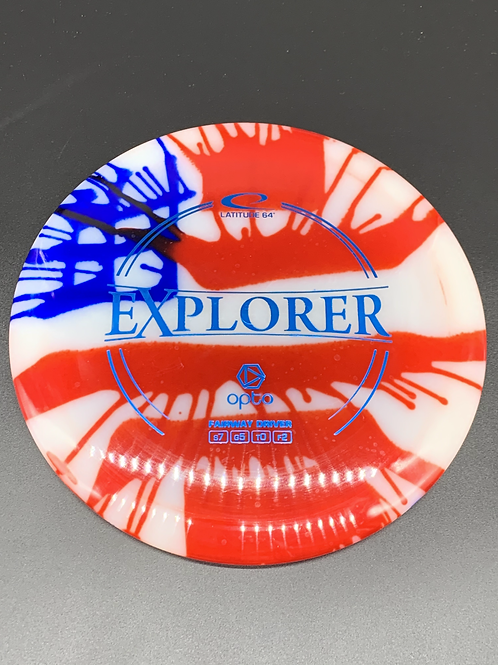 Opto Explorer American Flag Dye