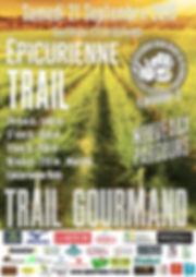 Epicurienne Trail 2019 - Affiche A5 draf