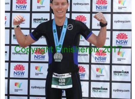 Ben Judd's Western Sydney 70.3 Race Report