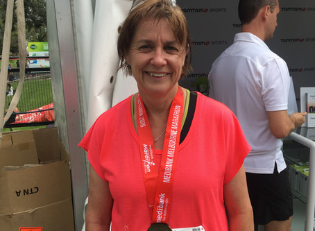 Bridget smashes Melbourne Marathon
