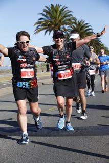 Gillian Garrett's Melbourne Marathon Race Report