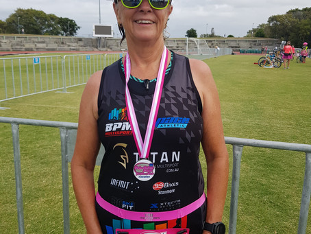 My First Triathlon - Triathlon Pink Race Report