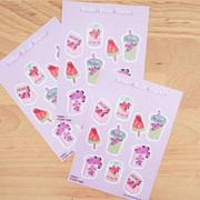 After School Snacks Journaling Sticker Sheet