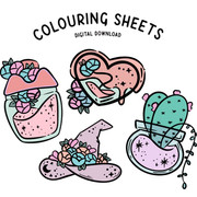 Colouring Sheets Printable Downloads