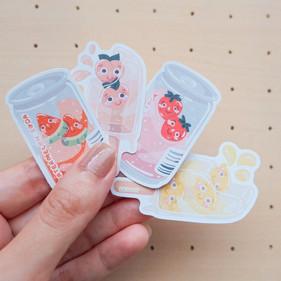 Fruit Soda and Popsickle Sticker Pack