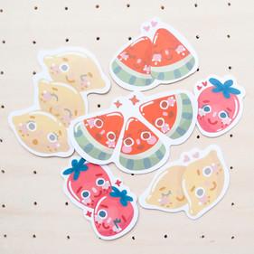 Juicy Summer Sticker Pack