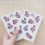 Love Potion Sticker Sheet