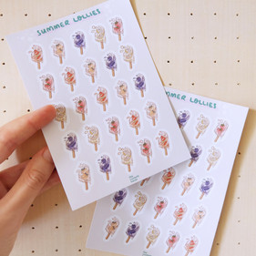 Juicy Summer Journaling Sticker Sheet
