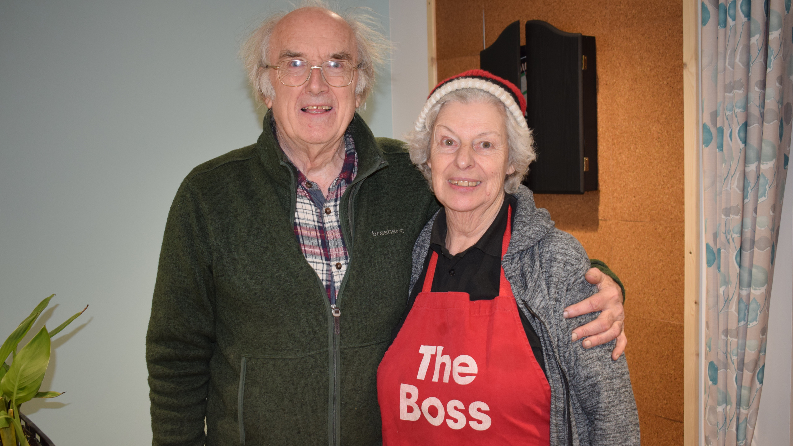 Christine and Keith Hayward