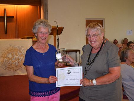 The 50th Anniversary Show of the Yateley and District Garden Society