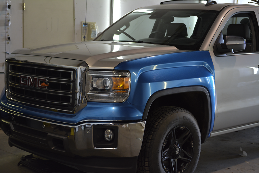 GMC Metallic Blue 8