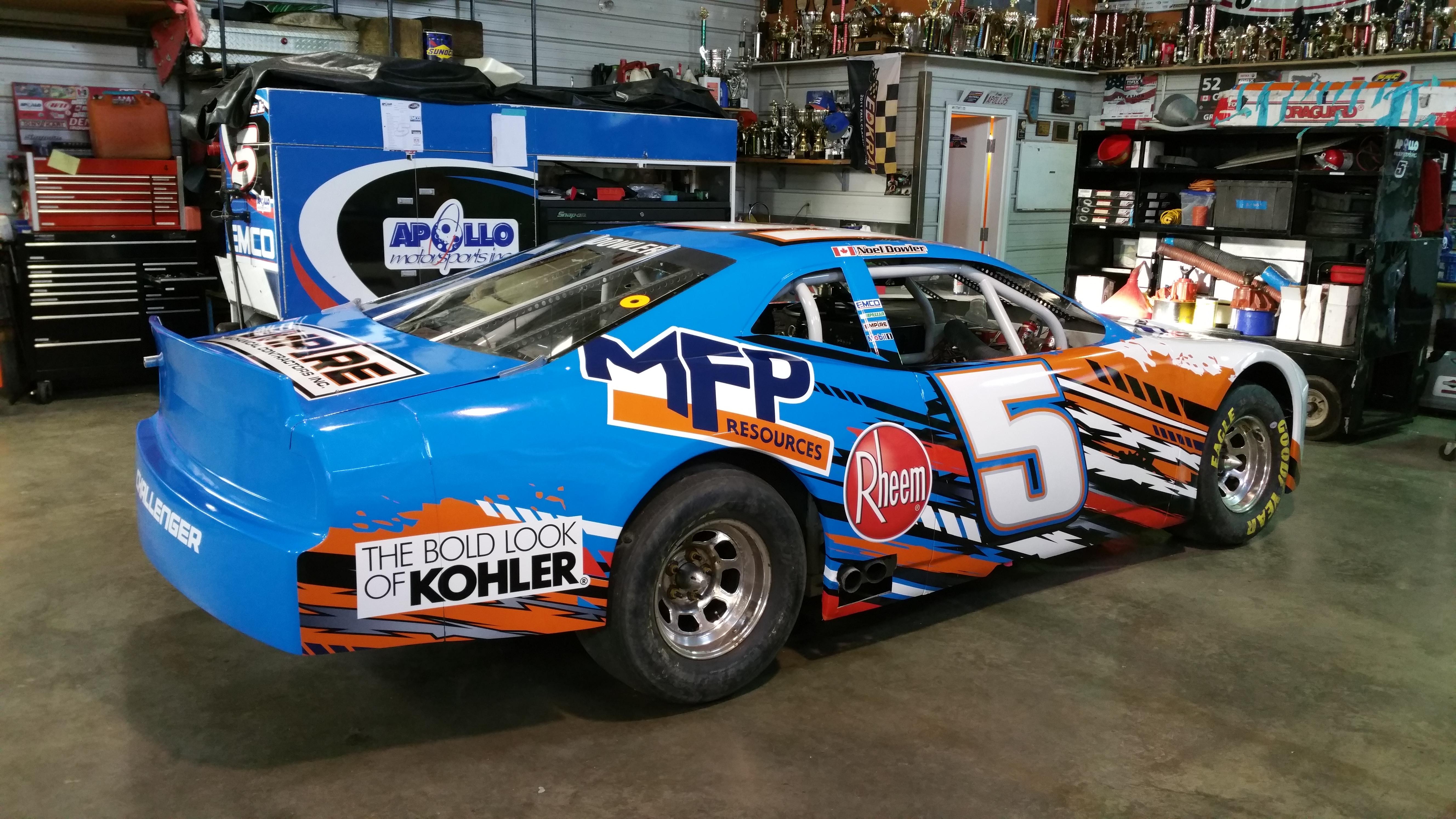 NASCAR #5 wrap