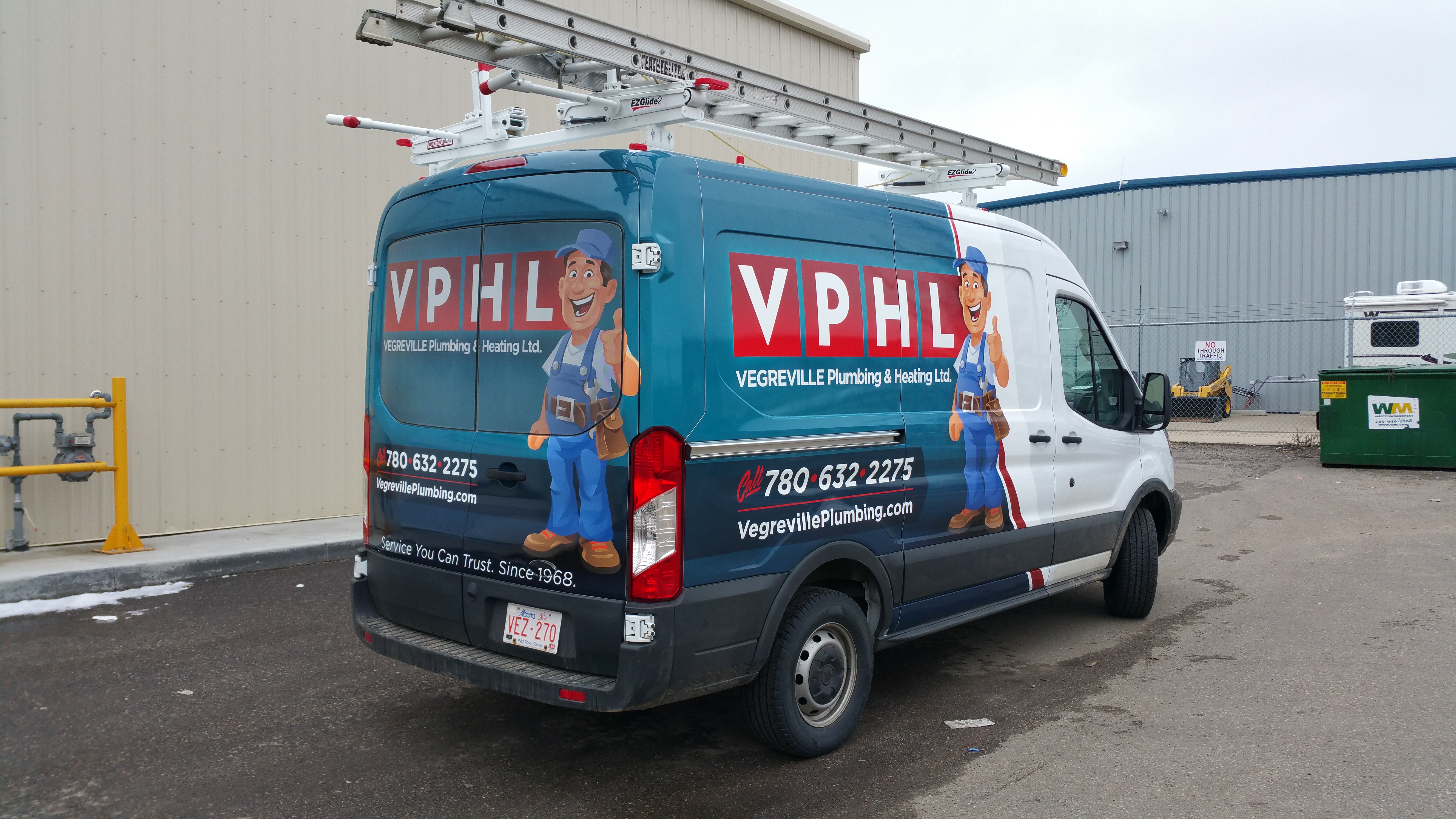 VPHL transit wrap