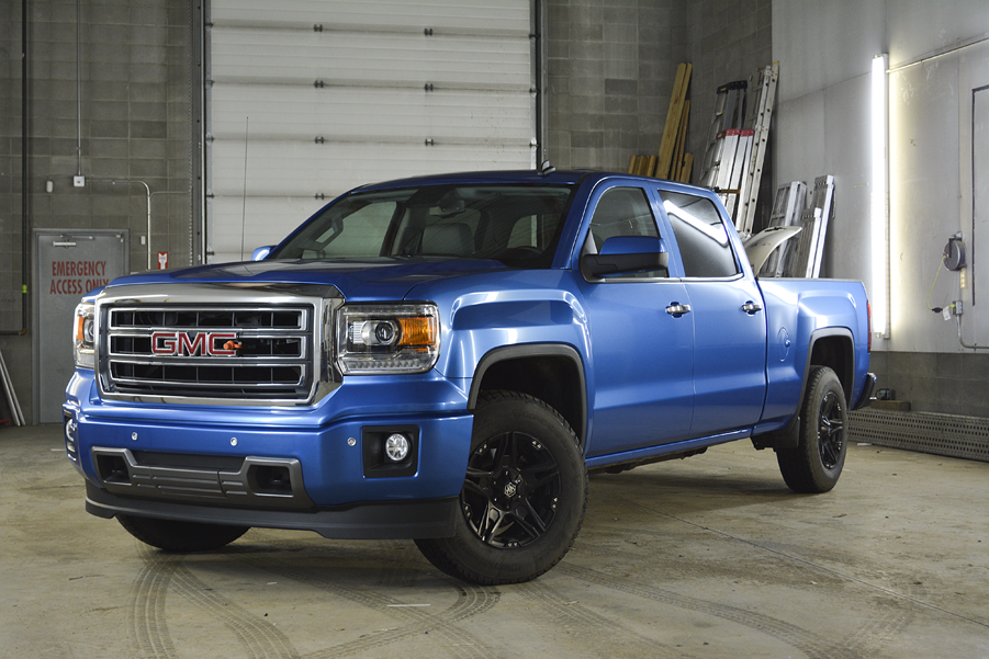 GMC Metallic Blue 2