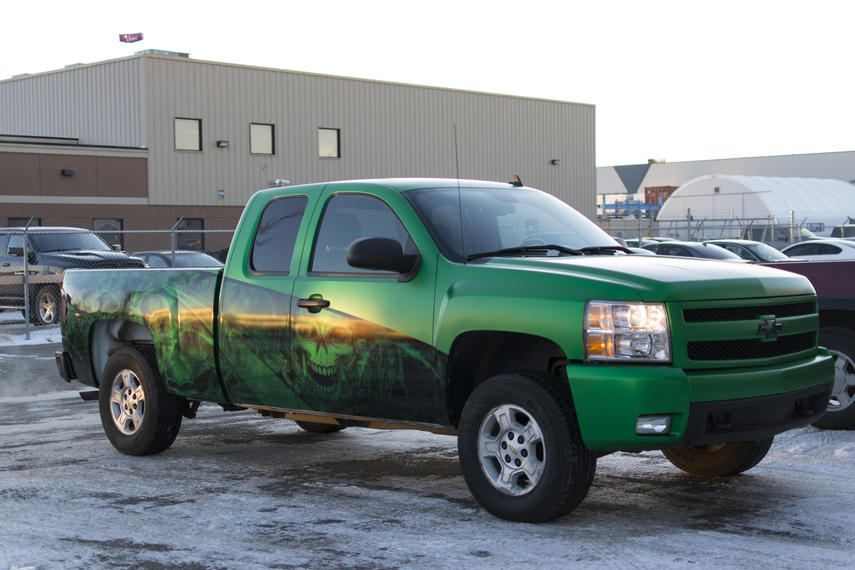 Chevy Silverado Wrap