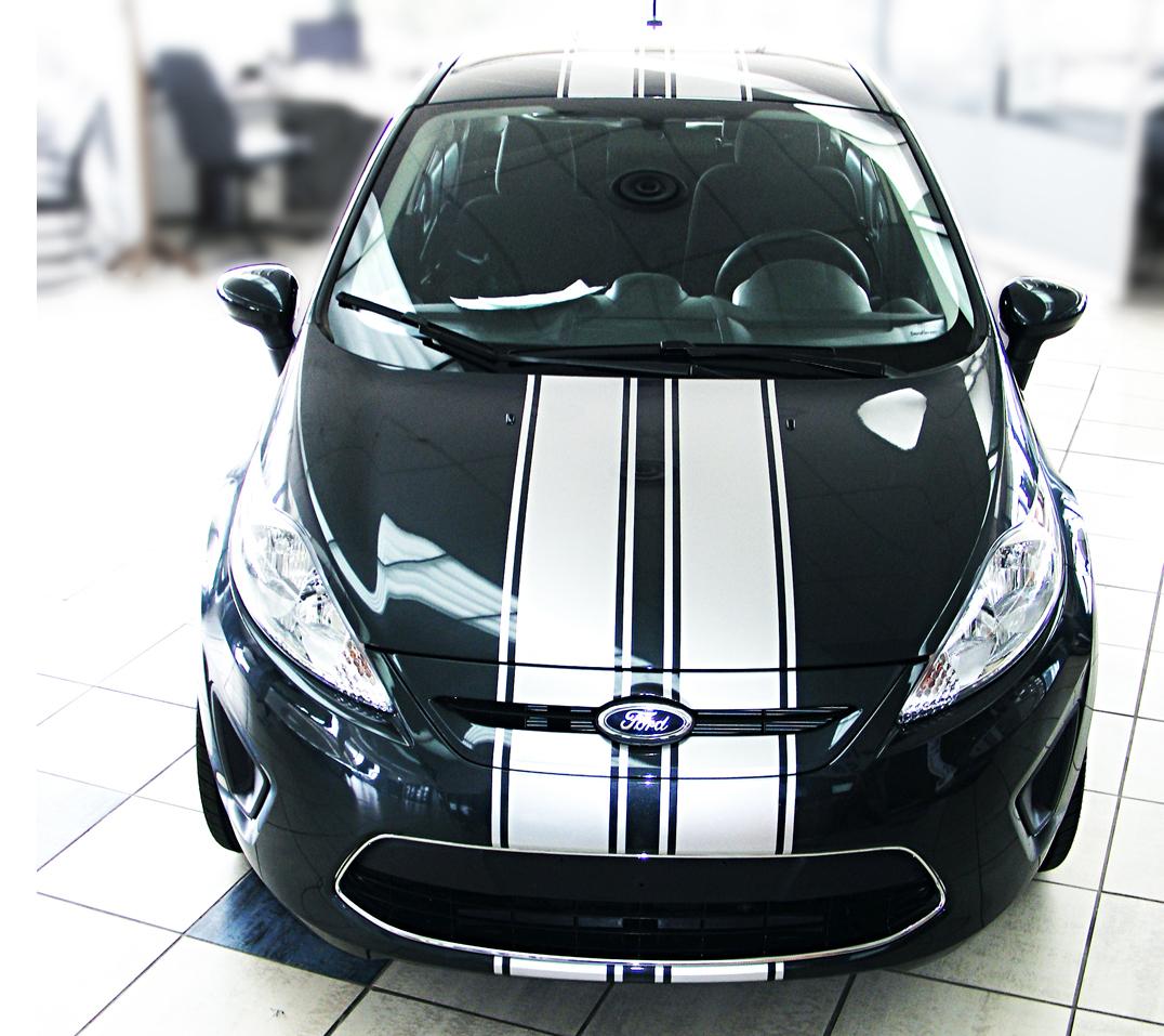 Ford Fiesta Stripes