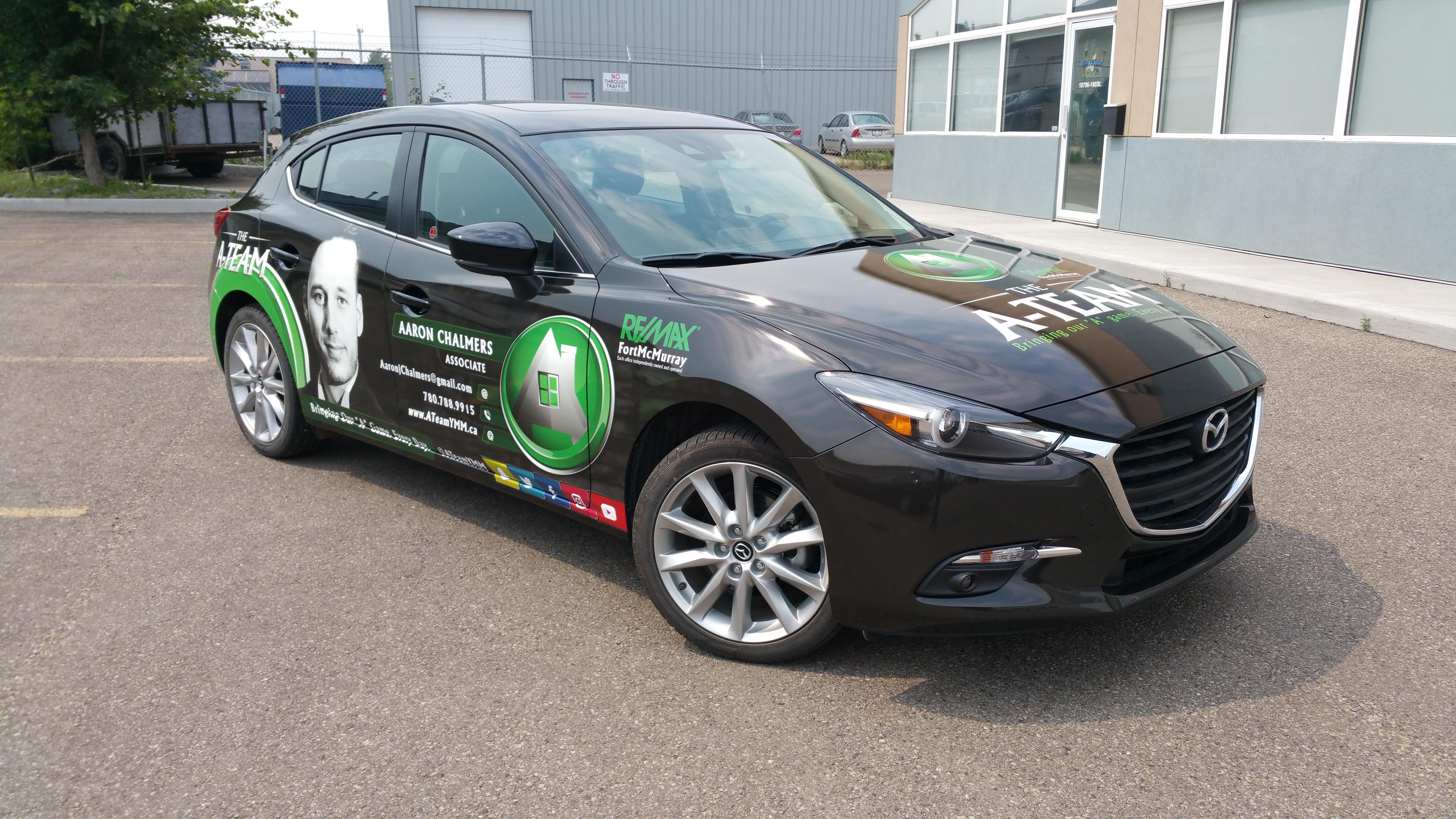 The A Team Mazda
