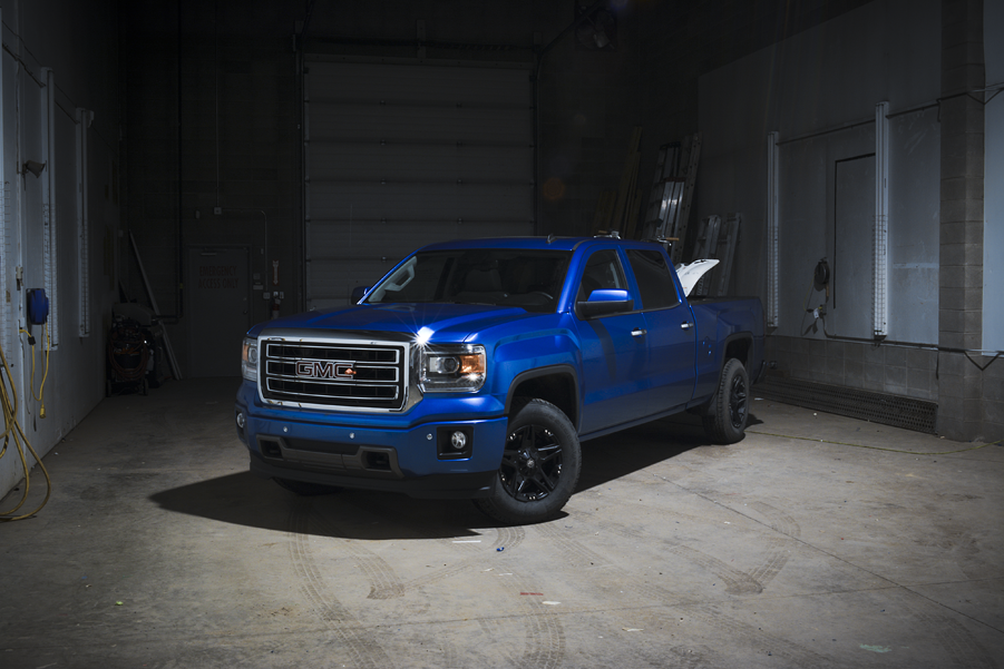 GMC Metallic Blue