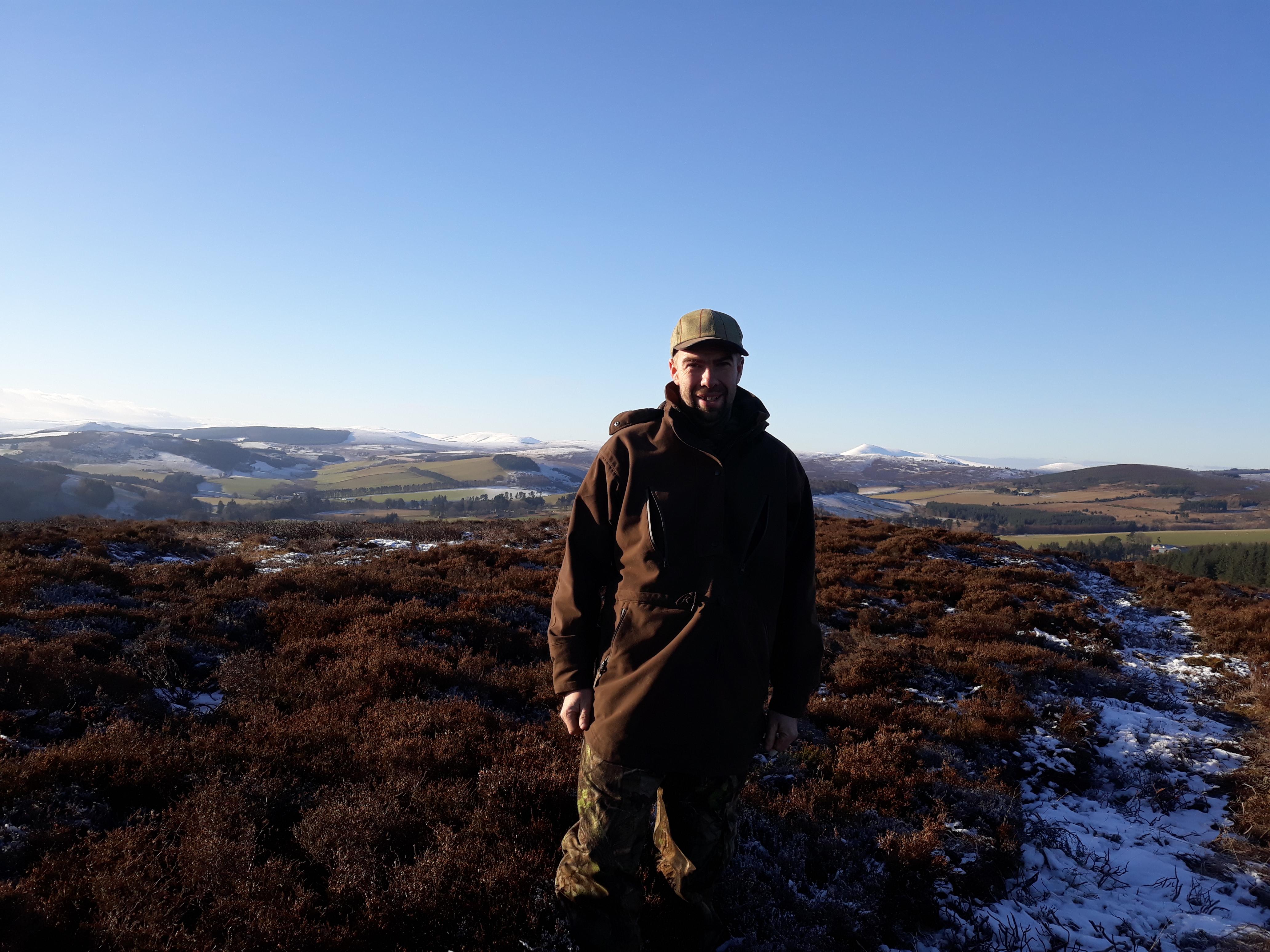 chasse des grouses en Ecosse