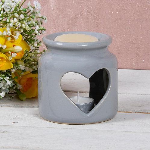Grey Wax Oil Warmer