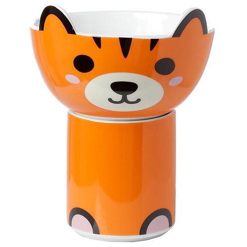Tiger Mug and Bowl Set