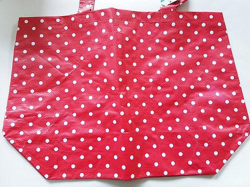 Red Spotty Beach Bag