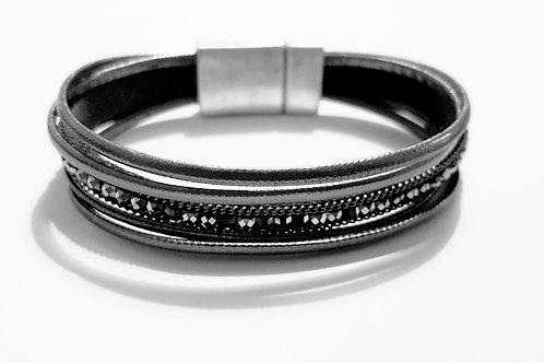 B19009 Grey Diamente Bracelet