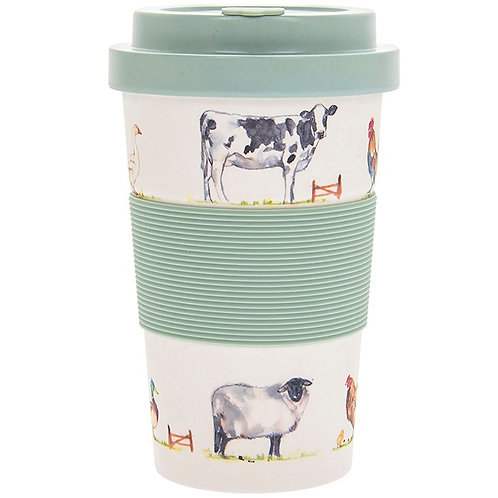 Farmyard Bamboo Travel Cup