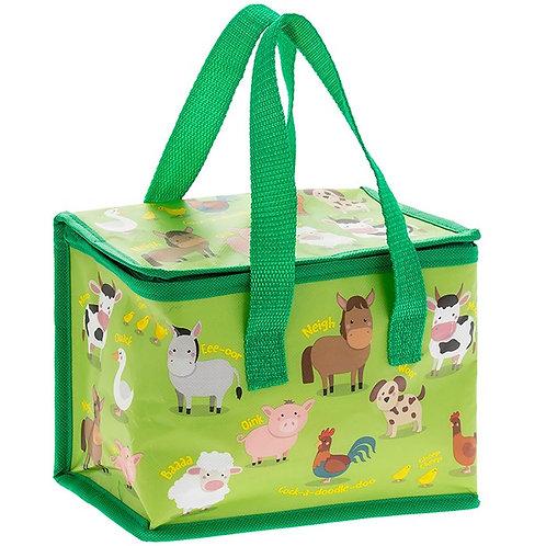 Farmyard Insulated Lunch Bag