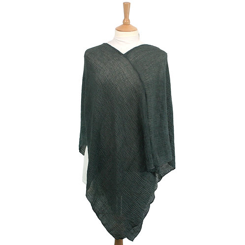 Light Poncho - Grey
