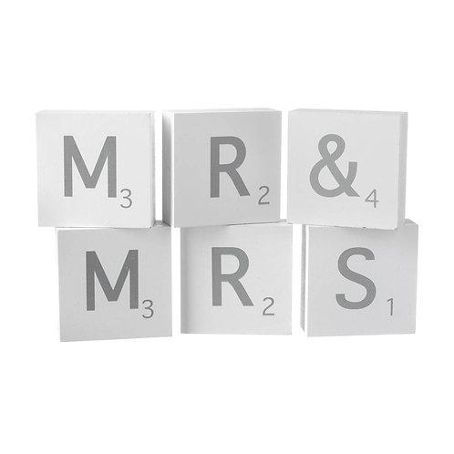 Mr & Mrs Blocks
