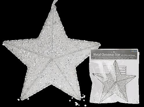 White Sparkle Star