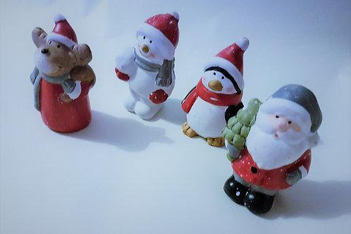 Ceramic Festive Figures