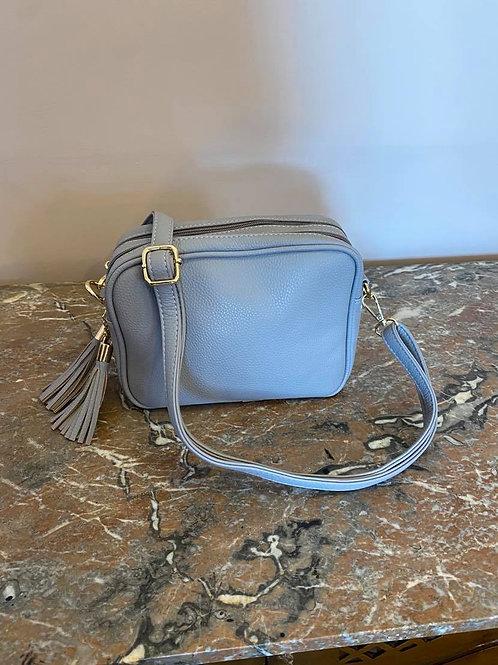Grey Camera Bag - Double Zip