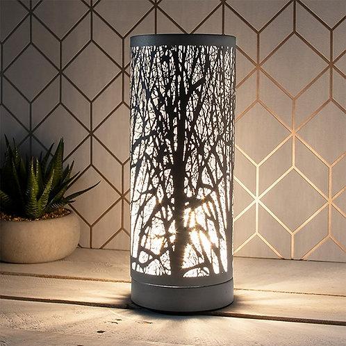 Aroma Woodland Touch Lamp - Matt Grey