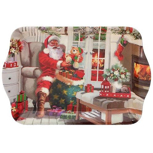 Santa Snack Dish