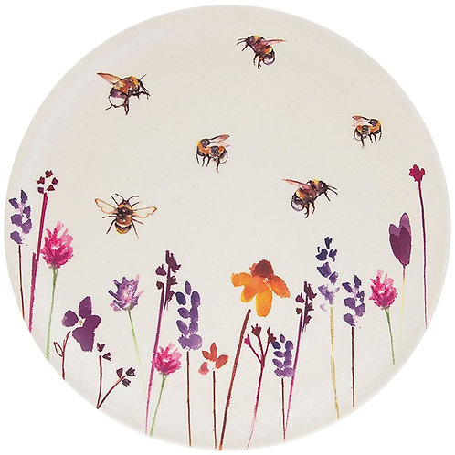 Busy Bees Bamboo Plate